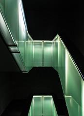 Stairway 1 (Guy Goetzinger) Tags: stairway treppe fifa goetzinger d500 nikon photooftheday 2019 stairs green achritecture indoor design escalier upstairs office modern