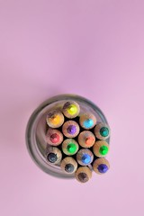Art art materials close up  - Credit to https://homegets.com/ (davidstewartgets) Tags: art materials closeup color colorful colourful colours crayons creative draw drawing glass high angle shot image multicolored object paint pastel pencil pencils rainbow sharp sketching wood wooden writing