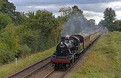 Standard 2 at Milepost 94 (garstangpost.t21) Tags: 78018 britishrailways gcr greatcentralrailway leicestershire