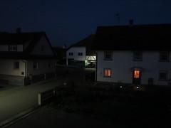 at night (mgheiss) Tags: canong1x kamera night nacht lights lichter haus house fenster window dorf village