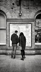 York station 2019-10-21 (Michael Erhardsson) Tags: york station svartvitt 2019