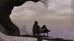 Contemplating Furillen (Myra Wildmist) Tags: secondlife sl myrawildmist virtualart virtualphotography virtualworlds furillen