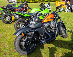 FTW Forever Two Wheels-Harley Sportster (Caught On Digital) Tags: custom ftw forevertwowheels harleydavidson motorbike motorcycles suffolk