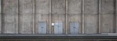 Kaiser-Friedrich-Gedächtniskirche - Berlin (henny vogelaar) Tags: germany berlin church concrete doors kaiserfriedrichgedächtniskirche hansaviertel ludwiglemmer