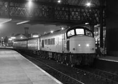 45007 78721 78971 Manchester Victoria 180387 img666-1387m9-a (Tony.Woof) Tags: 45007 78721 78971 class 111 manchester victoria night