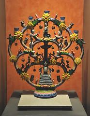 Mexico Puebla Pottery Day of the Dead (Teyacapan) Tags: diademuertos izucardematamoros veladora candleholder pottery ceramica artesanias crafts