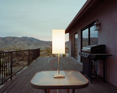 Lamp Color Study (rayewingphoto) Tags: 4x5 large format c41 film color