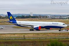 F-WWKQ Airbus A330 Neo Rwand Air (@Eurospot) Tags: toulouse blagnac airbus 9xrwt fwwkq a330 a330900 neo 1861 rwandair