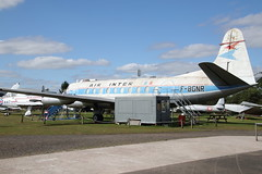 F-BGNR Vickers Viscount of Air Inter (Ian Press Photography) Tags: coventry air museum plane planes aircraft fbgnr vickers viscount inter
