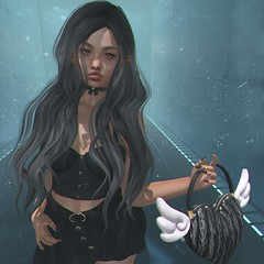【lonely】 (Sooyun Ichtama) Tags: secondlife slblogger addams blueberry dazed eudorabeauty kibitz michan mila niniplanet olive dubai