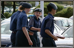 Air Training Corps (* RICHARD M (Over 9.5 MILLION VIEWS)) Tags: uniforms street candid portraits portraiture streetportraits streetportraiture candidportraits candidportraiture smiles expressions berets youngergeneration youth southport sefton merseyside airtrainingcorps atc cadets