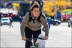 Bank Street Rider (Dan Dewan) Tags: dandewan bicycle bankstreet canonef70200mm14lisusm street people canon fall colour cyclist girl ontario sunday portrait ottawa woman october canoneos7dmarkii canada lady 2019 centretown bike