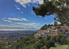 Stunning view from Mijas over the Costa Del Sol coast (Andreadm66) Tags: iphone sea costadelsol spain mijas view