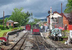 "Bala Lake Railway (Gook the Goblin) Tags: railway uk gb england gookthegoblin nigelmatthews canon canonpowershotg12 europe greatbritain unitedkingdom heritagerailway steam train ""bala lake steamrailway llyn alice hunslet balalakerailway llyntegid rheilfforddlyntegid maidmarrion"