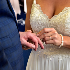 Gotcha (Croydon Clicker) Tags: wedding ring bride groom registry