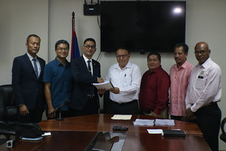 Corozal/Sarteneja Road Project Contract Signing