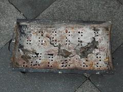 Durchgegrillt (mkorsakov) Tags: dortmund nordstadt hafen trash sperrmüll grill defekt damaged rost rust ausgegrillt