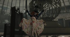 I caught a Deadmore! (Cassie Parker) Tags: madhatter madhattress drd wonderland secondlife ghost ghostbuster spook deadmore halloween cheshire