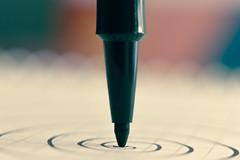 Macro Mondays : Stationery (PriscillaHernandez85) Tags: canon50mmf18 canon550d macrophotographie eos550d macro stationery macromondays spirale pen stylo papier paper