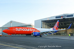 B737-86N N838SY SUN COUNTRY (shanairpic) Tags: jetairliner passengerjet b737 boeing737 shannon iac eirtech suncountry n838sy ineos
