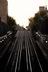One Way or Another (Thomas Hawk) Tags: america chicago cookcounty illinois usa unitedstates unitedstatesofamerica wickerpark subway traintracks fav10 fav25 fav50 fav100