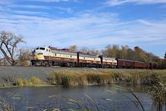 CP 41B-14, Glenwood, Minn. (chief_huddleston) Tags: 1410 4106 4107 funit fp9 train railroad cp canadianpacific passenger