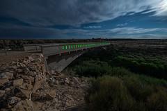 Diablo's Arch (Nocturnal Kansas) Tags: night nocturnal moon full longexposure lightpainting nightphotography 66 route arizona road mother d800 nikon led1 protomachines bridge diablo canyon