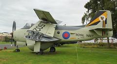 XL502 (GSairpics) Tags: xl502 fairey gannet aew3 gannetaew3 rn royalnavy display museum preserved aircraft aeroplane airplane airborneearlywarning elvington yorkshireairmuseum yorkshire