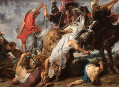 Pieter Paul Rubens (Siegen, 28 giugno 1577 – Anversa, 30 maggio 1640) - Jan Wildens (1586 -1653) - Caccia al leone (1621) Dimensioni (H × L) 248,7 × 377,3 cm - Alte Pinakothek Monaco di Baviera (raffaele pagani) Tags: rubens pieterpaulrubens sirpieterpaulrubens altepinakothekmonacodibaviera altepinakothekmunich altepinakothek pittorefiammingo flemishpainter monaco munich baviera bavaria germania germany museo museum pinacoteca artgallery
