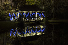 Blue Pagoda and Reflection (superdavebrem77) Tags: