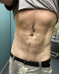 My furry tummy.  🐻 (NicestGuyEver) Tags: stomach hairy