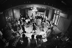Swing dance party in Hong Kong (PeterThoeny) Tags: central hongkong fringeclub building architecture dance swingdance party people stage indoor sony sonya7 a7 a7ii a7mii alpha7mii ilce7m2 fullframe rokinon12mmf28 fisheye fisheyelens wideangle 1xp raw photomatix hdr qualityhdr qualityhdrphotography fav100