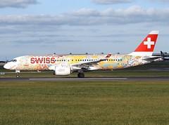 Swiss                             Airbus A220 ( CS300 )                                    HB-JCA (Flame1958) Tags: swiss swissa220 swisscs300 airbusa220 a220 220 airbus cs300 bombardiercs300 bombardier hbjca dub eidw dublinairport 211019 1019 2019 fichtre 8022