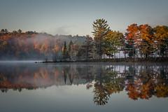 Dock View (Mark Polson) Tags: lake fall point color sarona wi