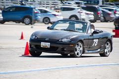 Mazda MX-5 (@EO_76) Tags: autocross autox weekendracer dailyracecar racecar grassrootsmotorsports nikon nikond500 nikkor maryland