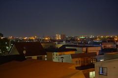 Kitahiroshima at Night (sjrankin) Tags: 21october2019 edited hokkaido japan hdr kitahiroshima houses night lights sky
