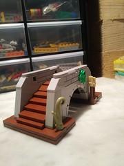 Lego stone bridge (Rimaster_) Tags: legostonebridge legotechniques legocurve
