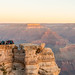 Waiting for the Sunrise overlooking Isis Temple - Mather Point, Grand Canyon