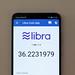 Libra Coin App on smartphone