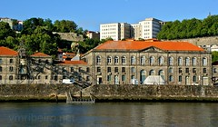 Alfândega (vmribeiro.net) Tags: portugal geo:lat=4114094933 geo:lon=862311543 geotagged river porto douro city europe water old travel town cityscape architecture tourism portuguese boat oporto bridge historic landmark view urban historical sky ancient port traditional history downtown boats wine ribeira culture building european blue panorama unesco day house luis famous skyline embankment hill ship summer outdoors attraction buildings transport sony a350
