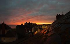 first light (Brett T) Tags: dualiso sunrise cloud dawn sea rooftop
