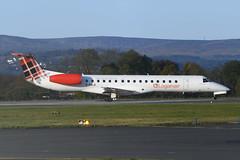 Photo of G-SAJI Embraer 145EP EGPF 20-10-19