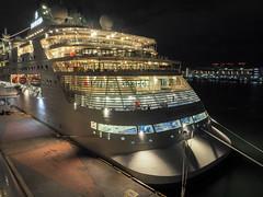 Muse night back style (sapphire_rouge) Tags: tokyo tokyobay harumi passengership passenger passengershipterminal 晴海 晴海客船ターミナル silvermuse