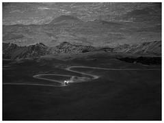 Bajo el volcán (una cierta mirada) Tags: sicily etna vulcano road landscape nature bnw blacandwhite travel panasonic dmcgx8 lumix g vario 1260f3556