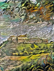 Lens & Brush 16 (V_Dagaev) Tags: landscape nature art architecture digital painterly painting painter paintingsfromphotos paint visualdelights