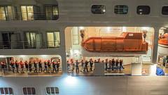 emergency training (sapphire_rouge) Tags: tokyo tokyobay harumi passengership passenger passengershipterminal 晴海 晴海客船ターミナル silvermuse