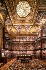 Morgan Library (20191020-DSC06911) (Michael.Lee.Pics.NYC) Tags: newyork morganlibrary ohny openhousenewyork architecture symmetry sony a7rm4 laowa12mmf28 magicshiftconverter shiftlens