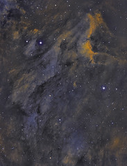 Photo of IC 5070. The Pelican Nebula. SHO. October 2019.