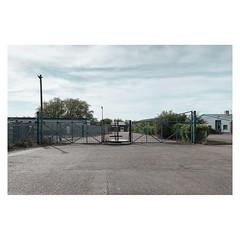 Gateway (John Pettigrew) Tags: lines tamron d750 nikon decay industrial gates barriers empty mundane documentary imanoot banal deserted topographics ordinary johnpettigrew angles