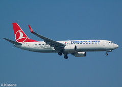 TURKISH AIRLINES B737 TC-JHD (Adrian.Kissane) Tags: 35743 1042018 b737 tcjhd ataturk istanbul turkish